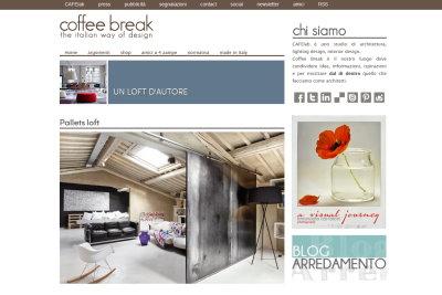 Coffee break il blog di architettura e design blog for Architettura blog