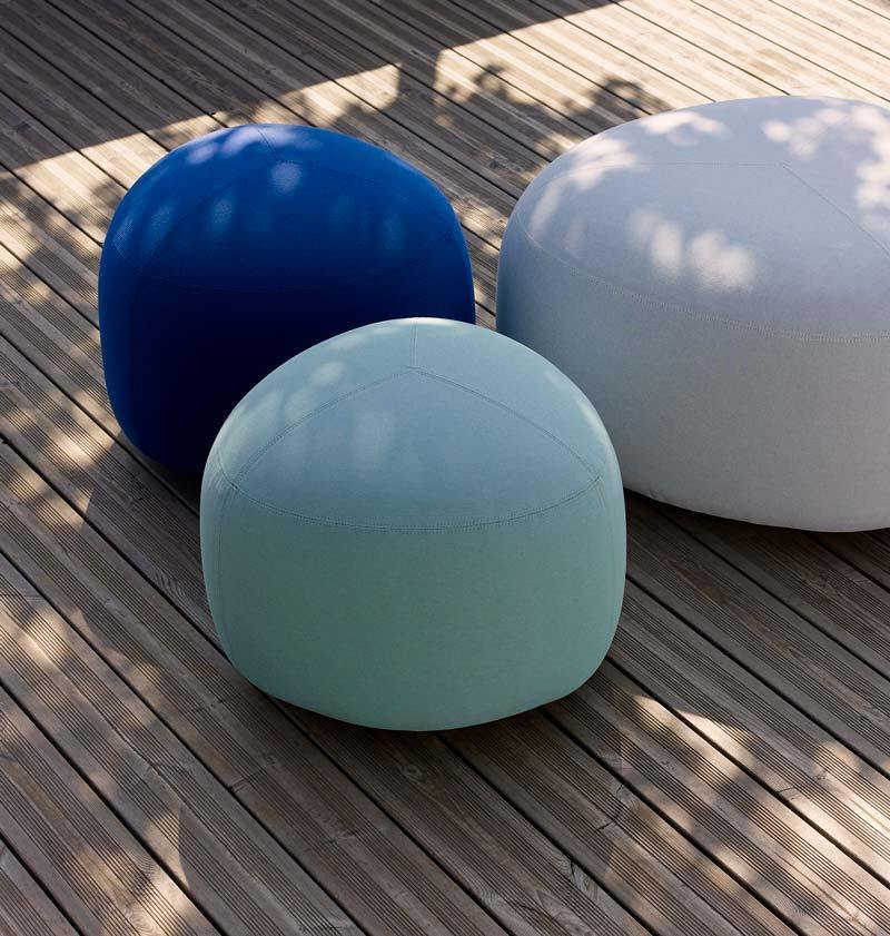 pouf per outdoor