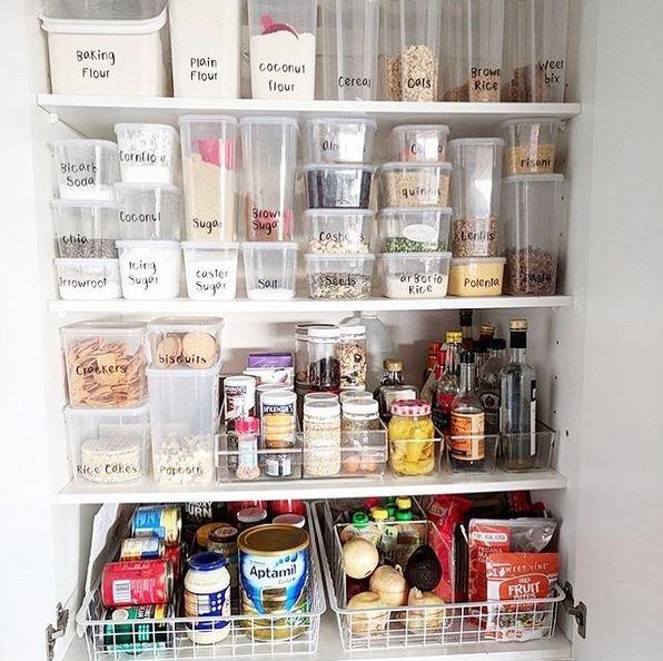 Organizzare Dispensa Cucina.Organizzare La Dispensa In Cucina Blog Arredamento