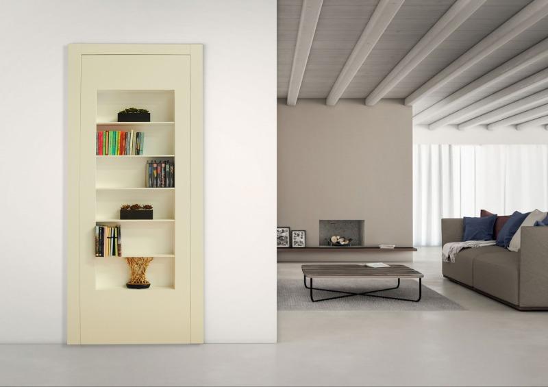 porta libreria segreta