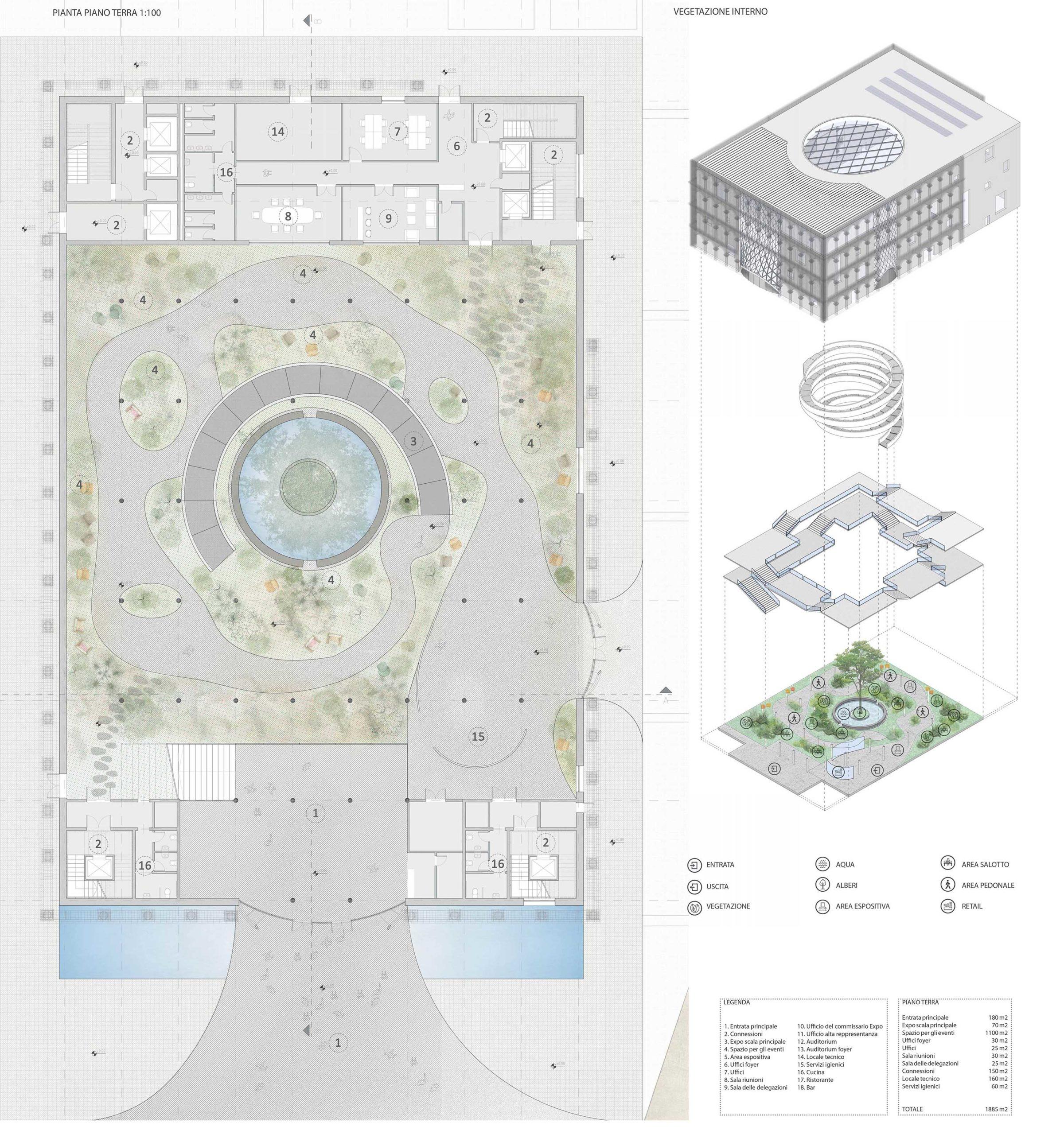 Progetto padiglione italia expo 2020
