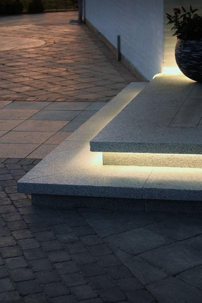 Illuminazione con striscia LED (foto di Tor Haddeland)